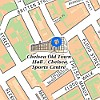 Chelsea Old Town Hall Map