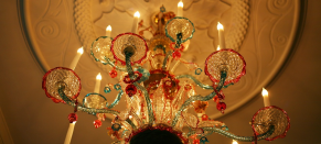Leighton House chandelier